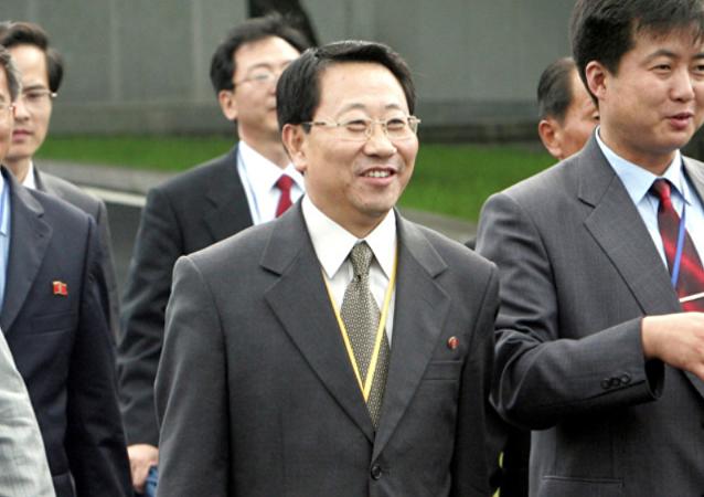 朝鲜无核化谈判代表抵达北京