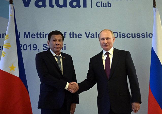 俄罗斯拟与菲律宾发展反恐合作