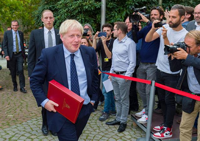 英首相收到參加俄紀念勝利75週年閱兵式的邀請