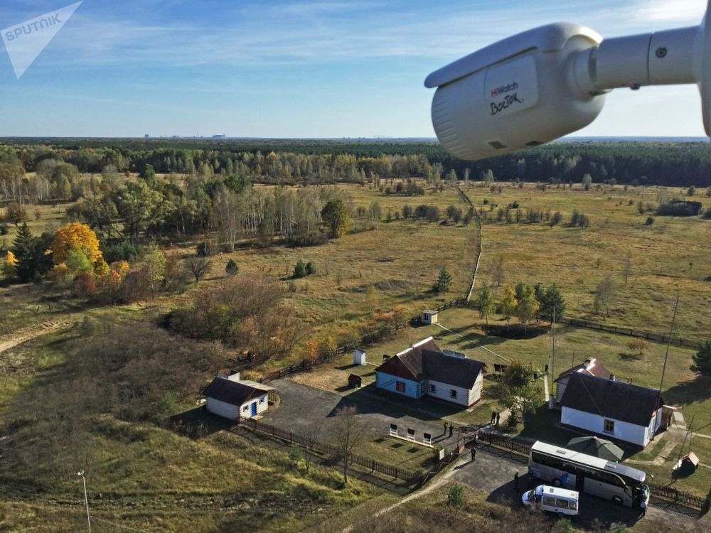 波列斯基輻射生態區內「馬薩內「科研站