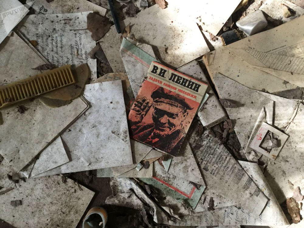 波列斯基輻射生態區內廢棄的房子