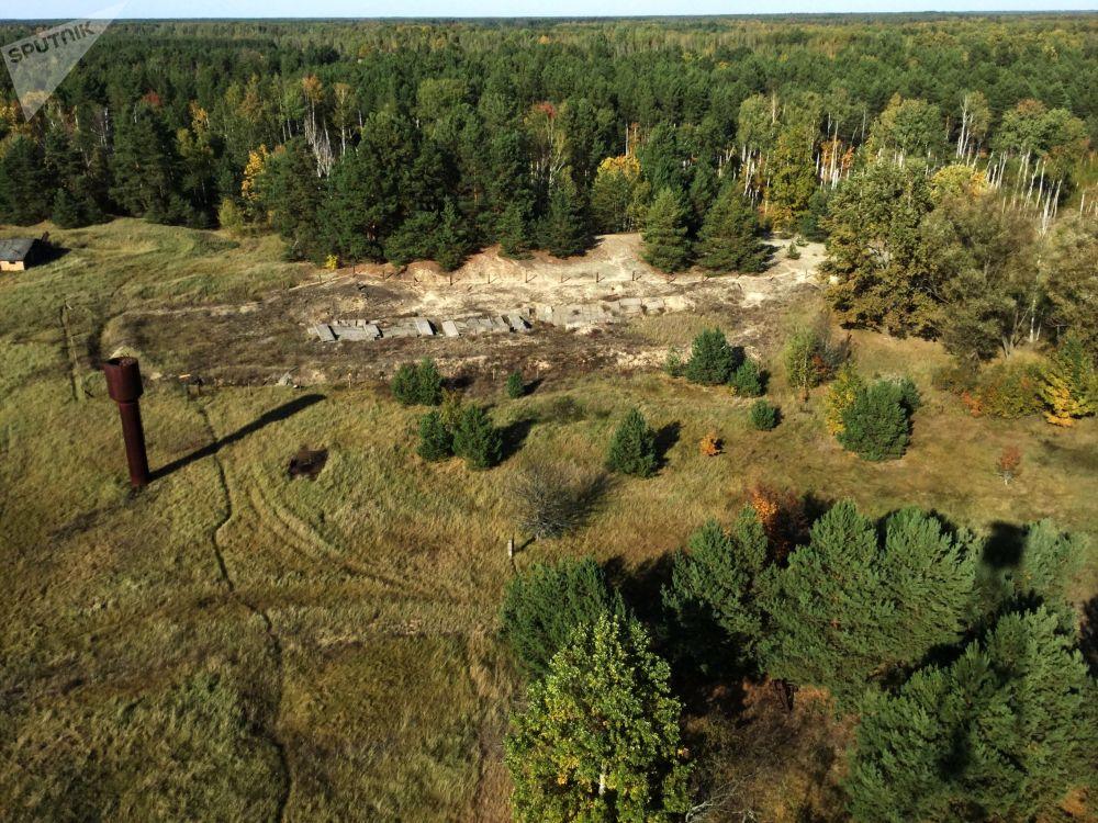 波列斯基輻射與生態區內「馬薩內「科研站的放射廢棄物掩埋地