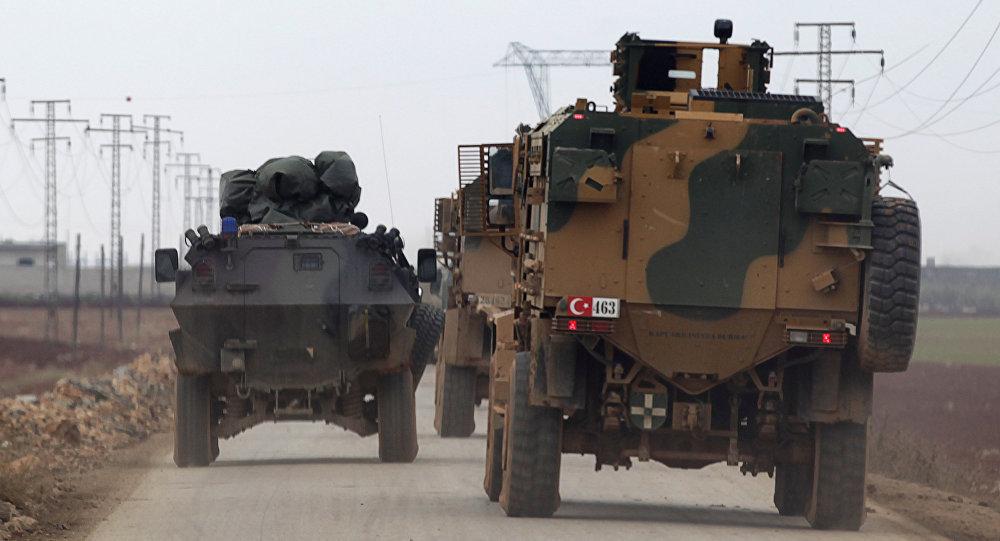 土耳其军队在叙利亚(资料图片)