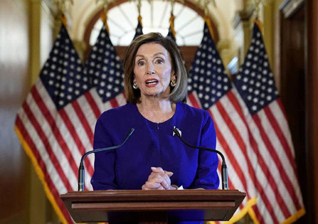 美国众议院议长南希·佩洛西