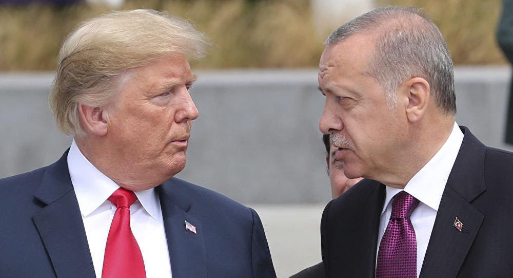 特朗普與埃爾多安會談後稱敘利亞北部的安全區運轉良好