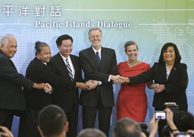 为什么美国与台湾提升政治接触级别?