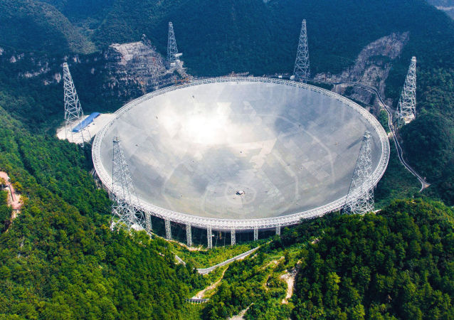"""""""中国天眼""""FAST(500米口径球面射电望远镜)"""