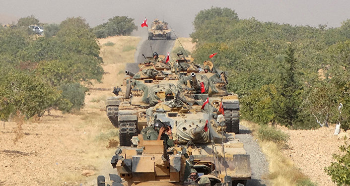 土耳其空軍空襲敘利亞北部城市艾因角