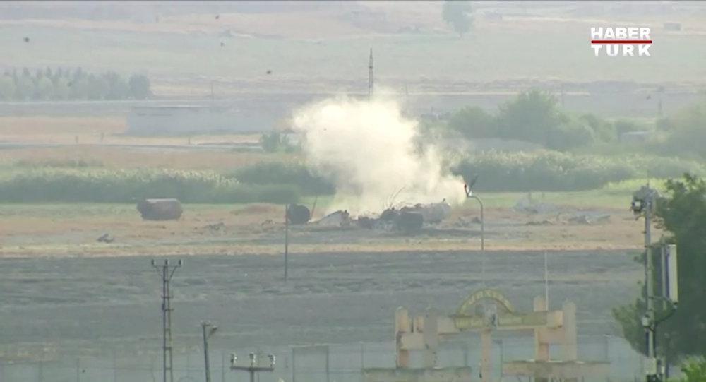 土軍在敘軍事行動首批視頻公開