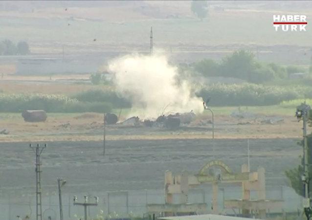 土军在叙军事行动首批视频公开