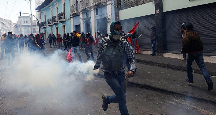 厄瓜多爾抗議活動