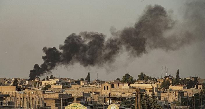 叙民主力量:土空军在叙北部空袭致2名平民死亡