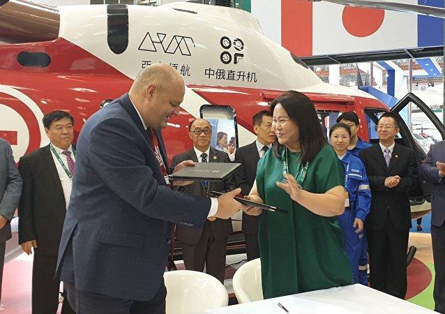必威体育直升机集团公司将向中国交付首批2架安萨特直升机