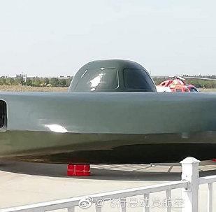 战斗UFO亮相中国直升机博览会(资料图片)