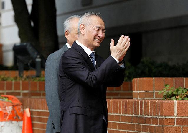 劉鶴分別會見國際組織負責人和美國工商界代表