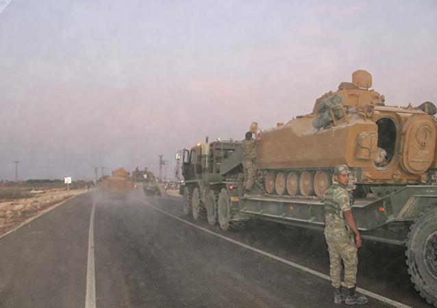 首名土耳其士兵在叙利亚行动中牺牲