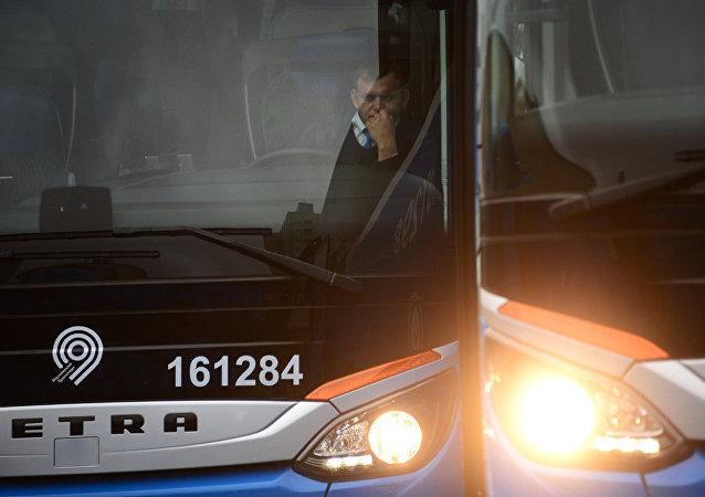 莫斯科公交將啓用攝像頭記錄司機疲勞跡象