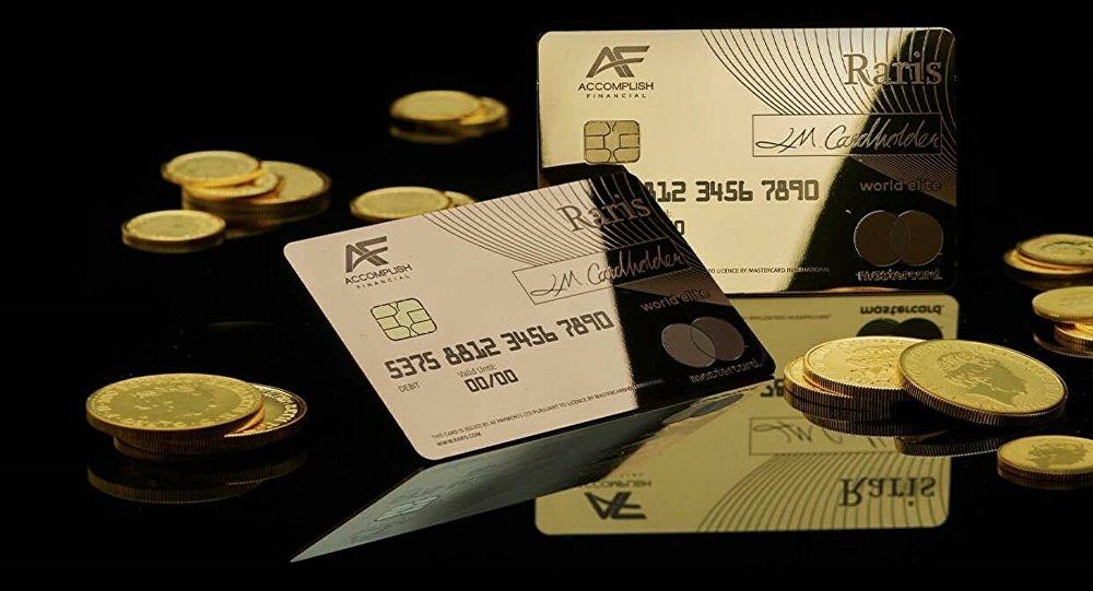 英國開始發行純金銀行卡