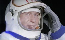 """""""太空行走第一人""""阿列克谢·列昂诺夫去世"""