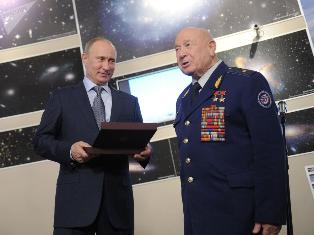 「太空行走第一人」阿列克謝·列昂諾夫去世