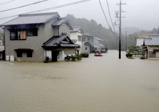 媒體:日本強颱風致死規模上升至14人