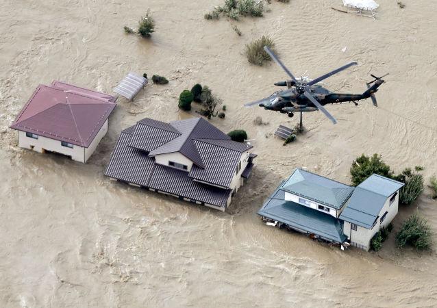 颱風「海貝思」已經導致日本33人死亡