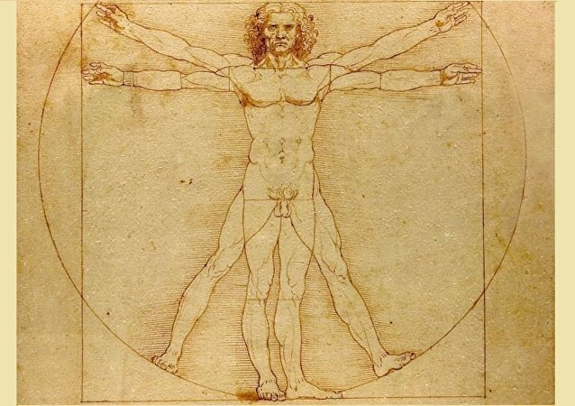 達•芬奇著名素描《維特魯威人》