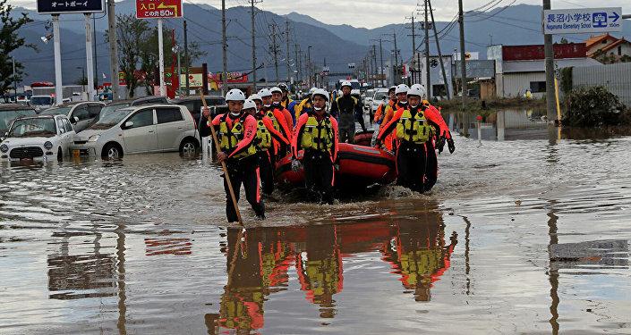 """台风""""海贝思""""横扫日本致死已达66人"""