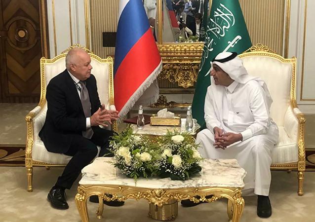 今日俄羅斯將在沙特阿拉伯設立代表處