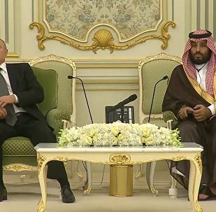 俄总统普京访问沙特阿拉伯