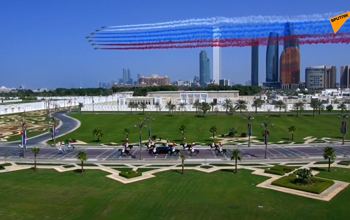 普京对阿联酋进行国事访问