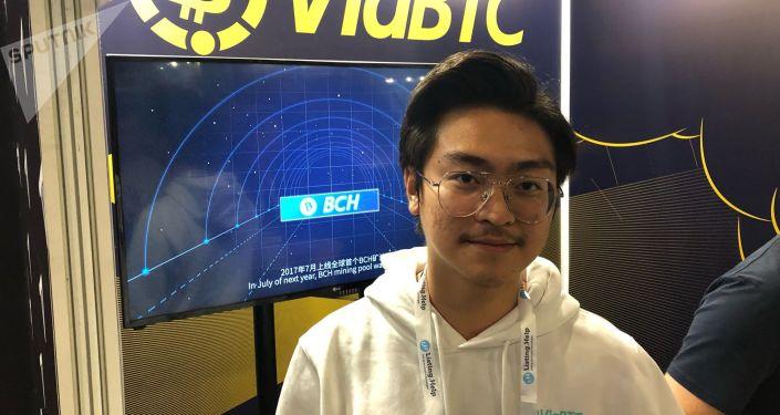中国最大的矿池ViaBTC创始人许浩扬