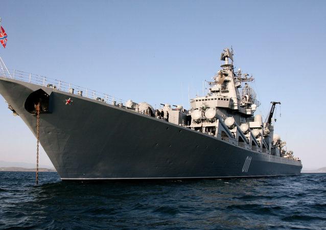 """""""瓦良格号""""导弹巡洋舰"""