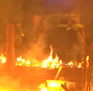 巴塞羅那抗議活動持續發酵