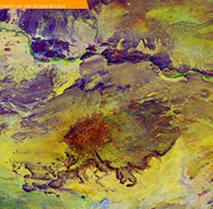 令人惊叹的地球卫星图