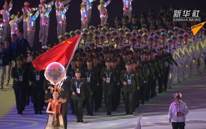 第七届世界军人运动会正式开幕
