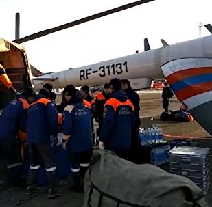 俄克拉斯诺亚尔斯克边疆区发生水坝垮塌事故