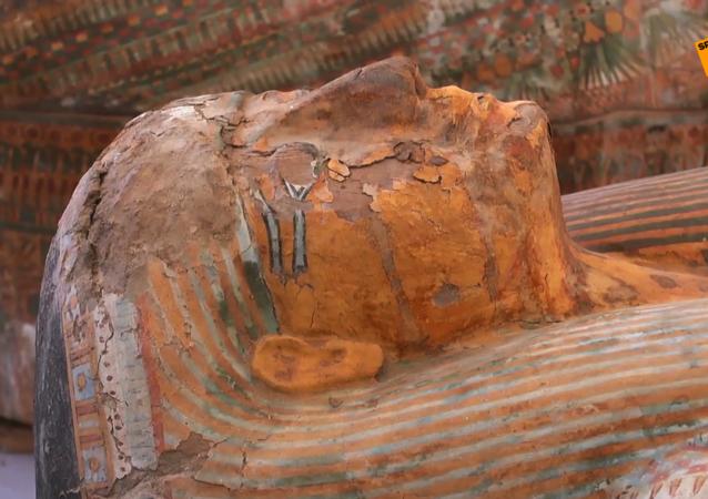 埃及考古學家首個重大發現:盧克索地區發現30個石棺