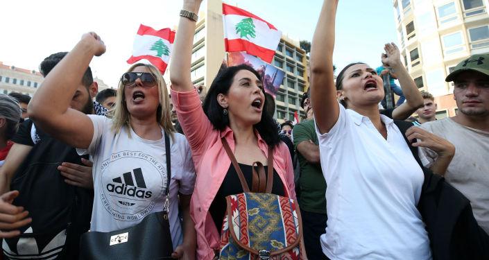 黎巴嫩贝鲁特抗议活动