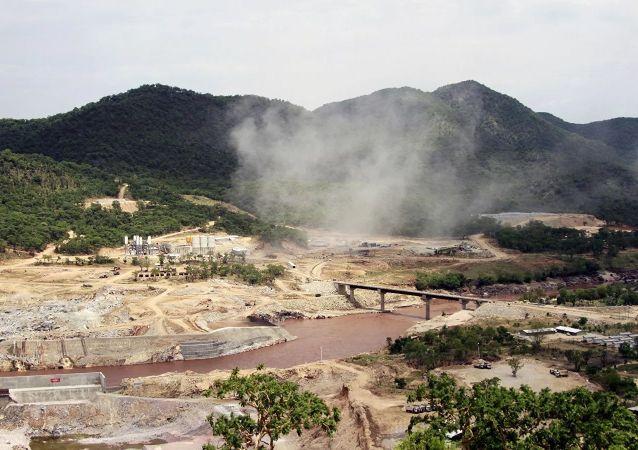 埃塞俄比亞實施在青尼羅河上建設復興大壩的大型項目