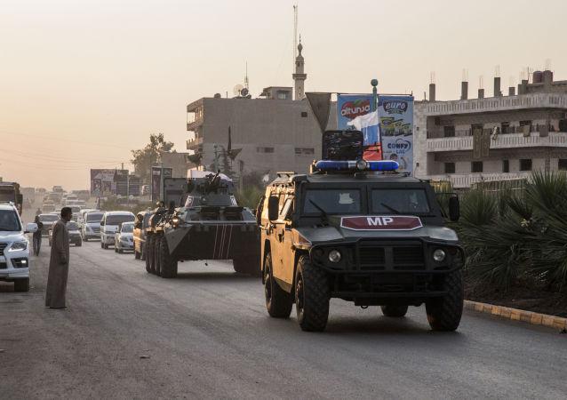 俄土两军对叙利亚战略要道进行联合视察