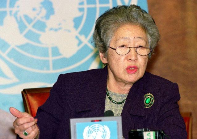 日本首位在聯合國擔任高級職務的女性緒方貞子去世