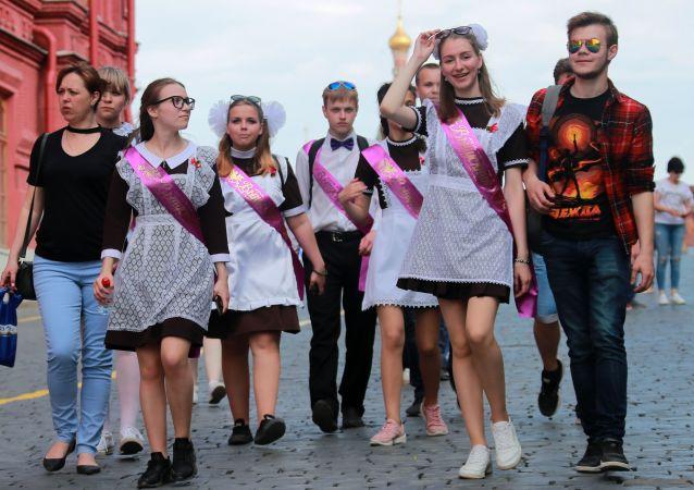 俄中小学生