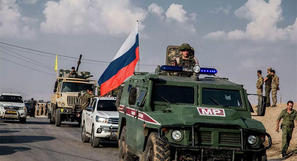 俄方軍警在敘利亞