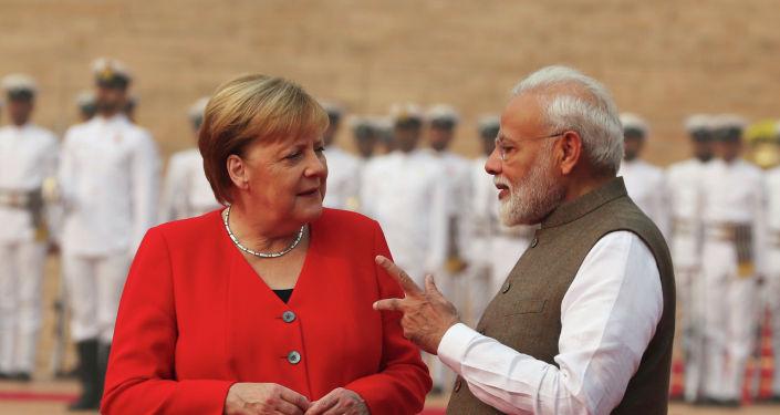 德国总理称应重启欧盟与印度的自贸区谈判