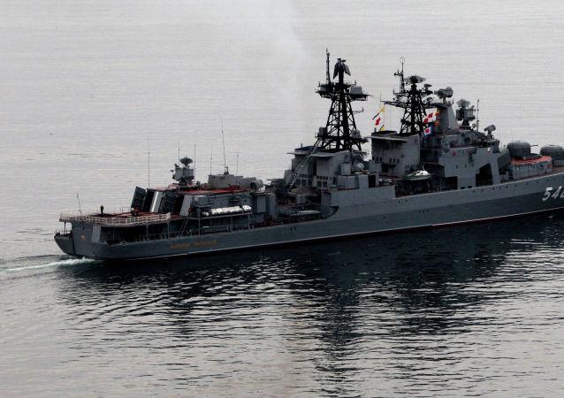 """""""潘捷列耶夫海军上将""""号驱逐舰"""