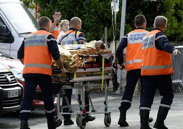 法國的交通事故 (資料圖片)