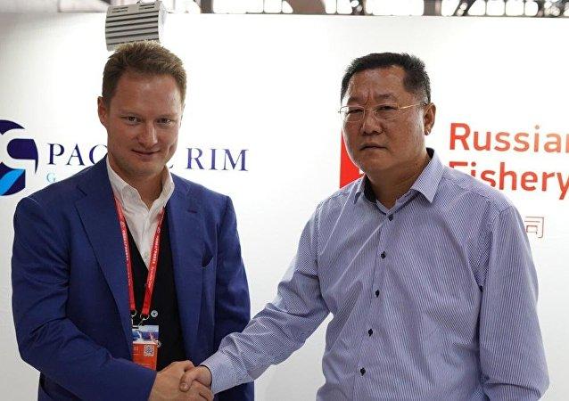 俄企業在中國國際漁業博覽會簽署萬噸出口大單