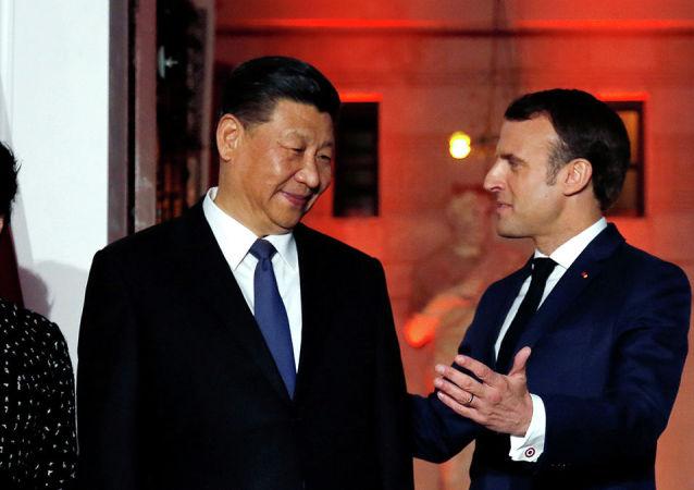 法國總統同中方會談時將代表歐盟發聲