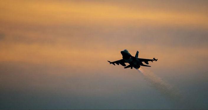 日本呼吁美国在查明训练用导弹掉落原因前停飞F-16战机